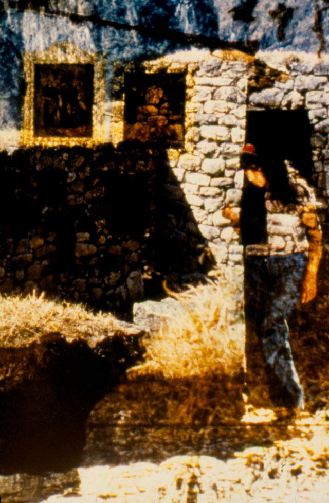 Ragazza + Machu Pichu